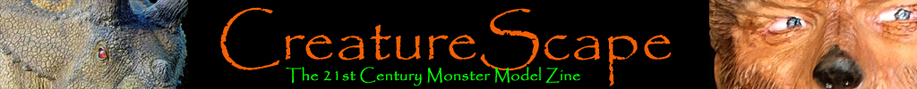 CreatureScape monster modeling resin modeling model building service